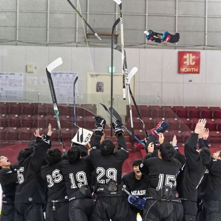 武蔵大学スケート部が秩父宮杯第67回関東大学アイスホッケー選手権大会 Cグループにて優勝しました